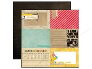 Echo Park Paper 12 x 12 in. Birthday Wishes RSVP (15 piece)