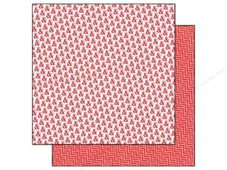 Clearance Blumenthal Favorite Findings: Echo Park 12 x 12 in. Paper Red Rockin Red (15 piece)