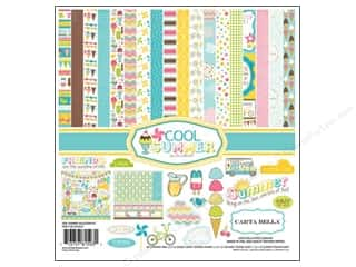 Carta Bella Collection Kit 12 x 12 in. Cool Summer