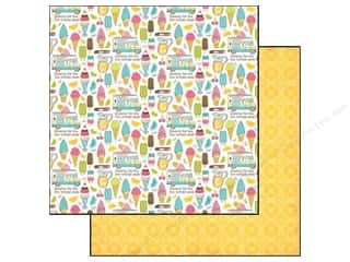Carta Bella Papers: Carta Bella 12 x 12 in. Paper Cool Summer Cool Off (25 pieces)