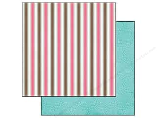 Carta Bella 12 x 12 in. Paper Summer Neapolitan Stripe (25 piece)
