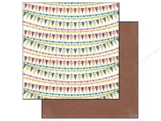 Carta Bella 12 x 12 in. Paper Ice Cream Banner (25 piece)