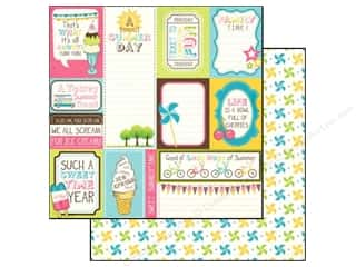 Carta Bella 12 x 12 in. Paper Cool Summer Season Cards (25 piece)