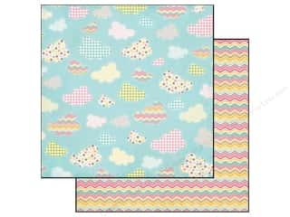 Carta Bella Paper 12 x 12 in. Cool Summer Midsummer Sky (25 piece)