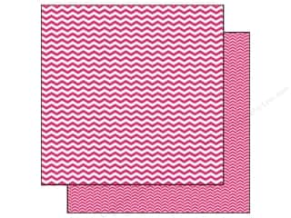 Echo Park Paper 12 x 12 in. Pretty In Pink Chevron (15 piece)