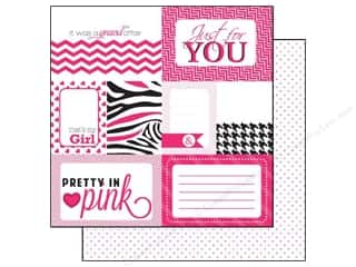 Clearance Blumenthal Favorite Findings: Echo Park 12 x 12 in. Paper Pretty In Pink Journaling (15 piece)