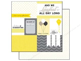Clearance Blumenthal Favorite Findings: Echo Park 12 x 12 in. Paper Yellow Submarine Journaling (15 piece)