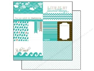 Echo Park 12 x 12 in. Paper Totally Teal Journaling (15 piece)