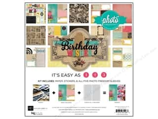Clearance Best Creation Collection Kit: Echo Park 12 x 12 in. Birthday Wishes Collection Kit