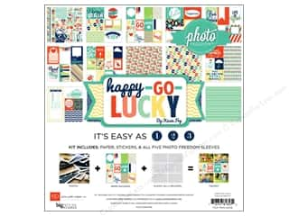 Clearance Echo Park Collection Kit: Echo Park Collection Kit Happy Go Lucky