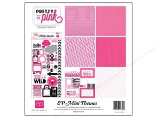 Echo Park Paper Company Echo Park Collection Kit: Echo Park 12 x 12 in. Pretty In Pink Collection Kit