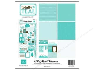 Clearance Echo Park Collection Kit: Echo Park Collection Kit Totally Teal
