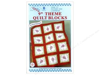 Jack Dempsey 9&quot; Quilt Blocks 12pc Ladybugs