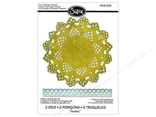Sizzix Thinlits Die Set 2PK Doily & Doily Border #2