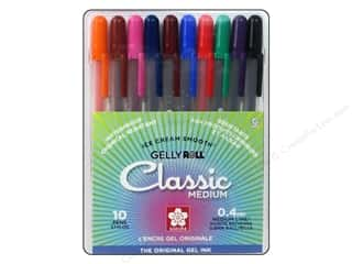 Sakura Gelly Roll Medium Point Pen Set 10pc