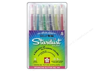 Sakura Gelly Roll Stardust Pen Set Galaxy 6 pc