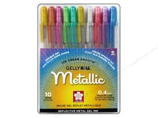 Drawing $0 - $4: Sakura Gelly Roll Metallic Pen Set 10 pc