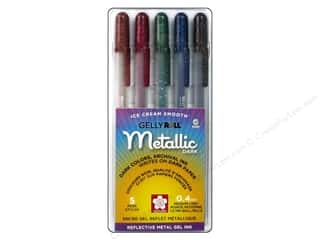 Drawing $0 - $4: Sakura Gelly Roll Metallic Pen Set Dark 5 pc