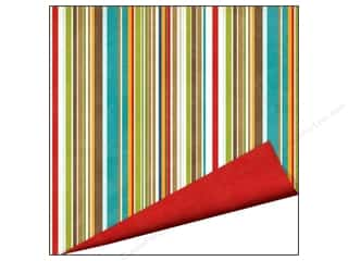 Outdoors Clearance: Imaginisce Paper 12x12 Outdoor Adventure Canvas Stripe (25 pieces)