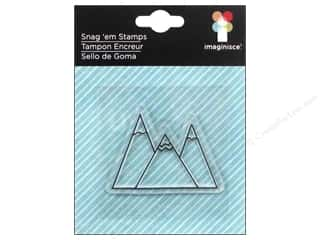 Outdoors Papers: Imaginisce Snag Em Stamp Outdoor Adventure 3 Peaks
