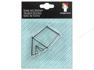 Clearance Plaid Stamps Clear: Imaginisce Snag Em Stamp Outdoor Adventure Tent