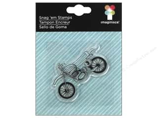 Imaginisce Rubber Stamping: Imaginisce Snag Em Stamp Outdoor Adventure Dirt Bike