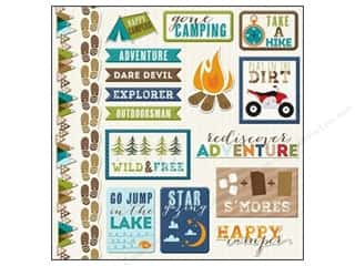 sticker: Imaginisce Sticker Outdoor Adventure  Icons
