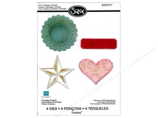 Sizzix Thinlits Die Set 4PK Everyday Eclectic