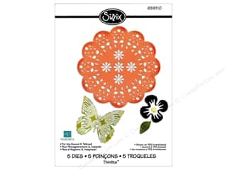 Sizzix Thinlits Die Set 5PK For The Record 2 Tailored