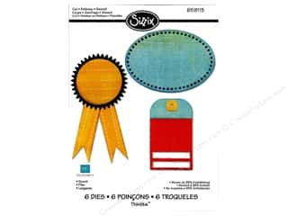 Sizzix Thinlits Die Set 6PK Scoot