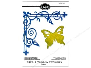 Sizzix Die Thinlits Corner Flourish Butterfly