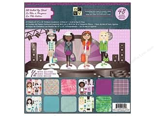 DieCuts 12 x 12 in. Paper Stack All Dolled Up