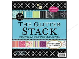 DieCuts 12 x 12 in. Paper Stack Glitter