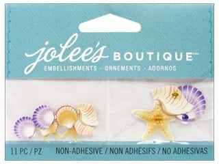 EK Jolee's Boutique Embellishment Mini Seashells