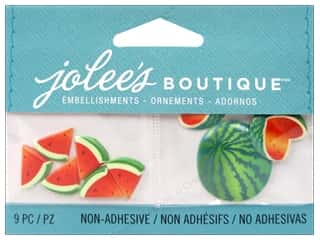 Jolee's Boutique Embellishments Watermelon Slices