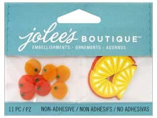 EK Jolee's Boutique Embellishment Orange Slices