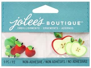 EK Jolee's Boutique Embellishment Apples