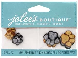 NEW EK Jolees Boutique Embellishments: Jolee's Boutique Embellishments Pawprints