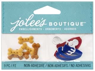 EK Jolee's Boutique Embellishment Dog Treats And Collar