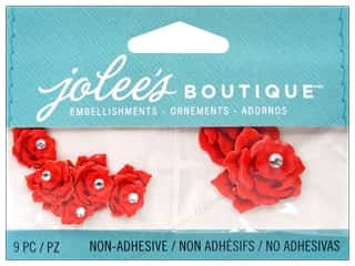 2013 Crafties - Best Adhesive: Jolee's Boutique Embellishments Mini Red Roses
