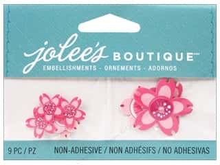 Hot off the Press Embellishment Flowers / Blossoms / Leaves: Jolee's Boutique Embellishments Cherry Blossoms Pink