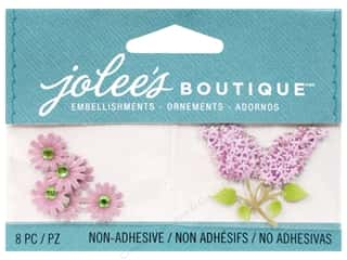 EK Jolee's Boutique Light Purple Daisies And Lilacs