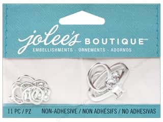 Jolee's Boutique Embellishments Wedding Rings