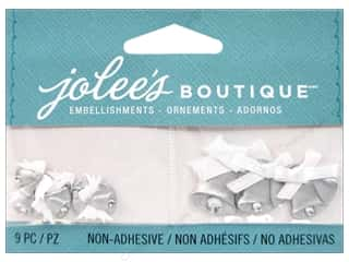 Jolee's Boutique Embellishments Mini Wedding Bells