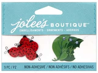 EK Success Craft Embellishments: Jolee's Boutique Embellishments Ladybugs and Leaves