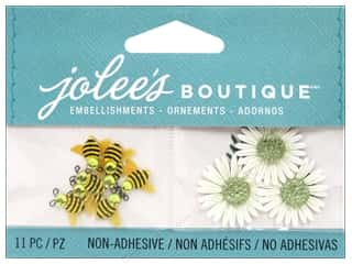 EK Jolee's Boutique Embellishment Bumblebees And Daisies