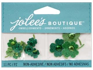 Saint Patrick's Day Crafts with Kids: Jolee's Boutique Embellishments Shamrocks