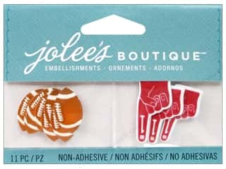 2013 Crafties - Best Adhesive: EK Jolee's Boutique Footballs And Foam Fingers