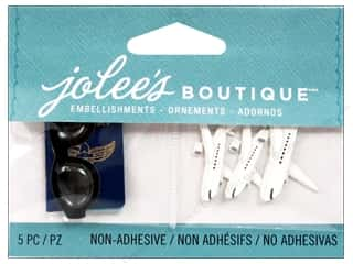 EK Success Craft Embellishments: Jolee's Boutique Embellishments Passport Sunglasses And Planes