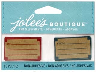 EK Success Craft Embellishments: Jolee's Boutique Embellishments Kraft Labels